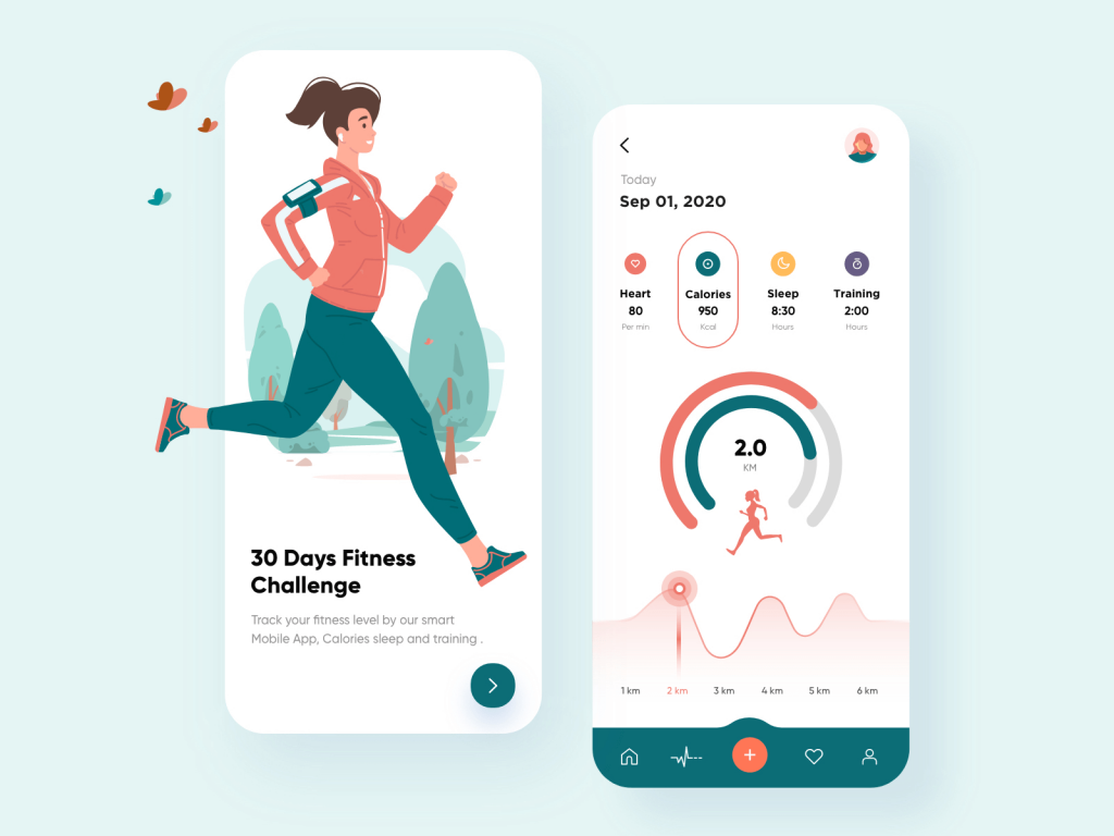 How to track your fitness b=via your mobile phone
