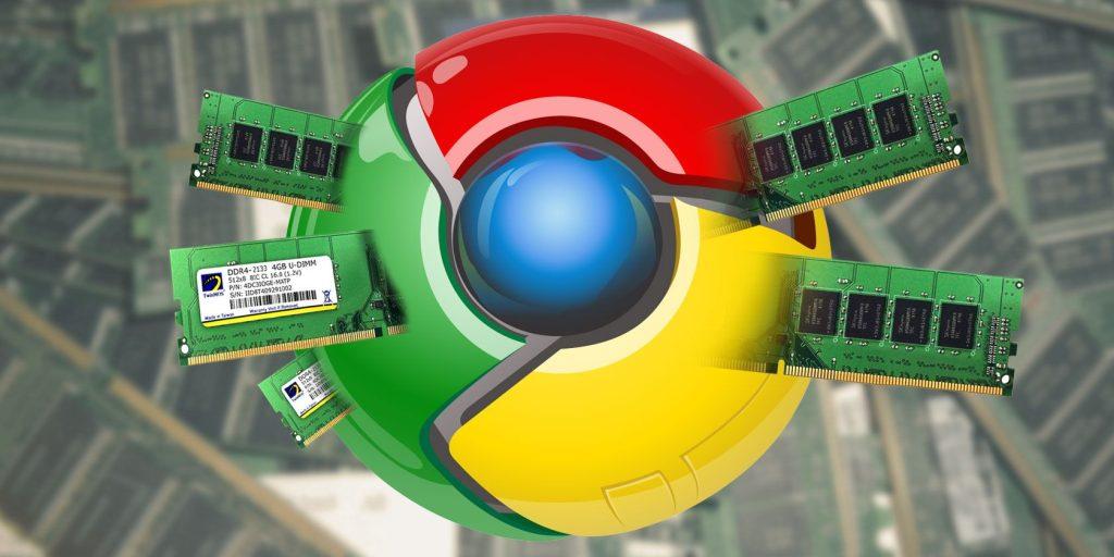 Google chrome tab taking your memory