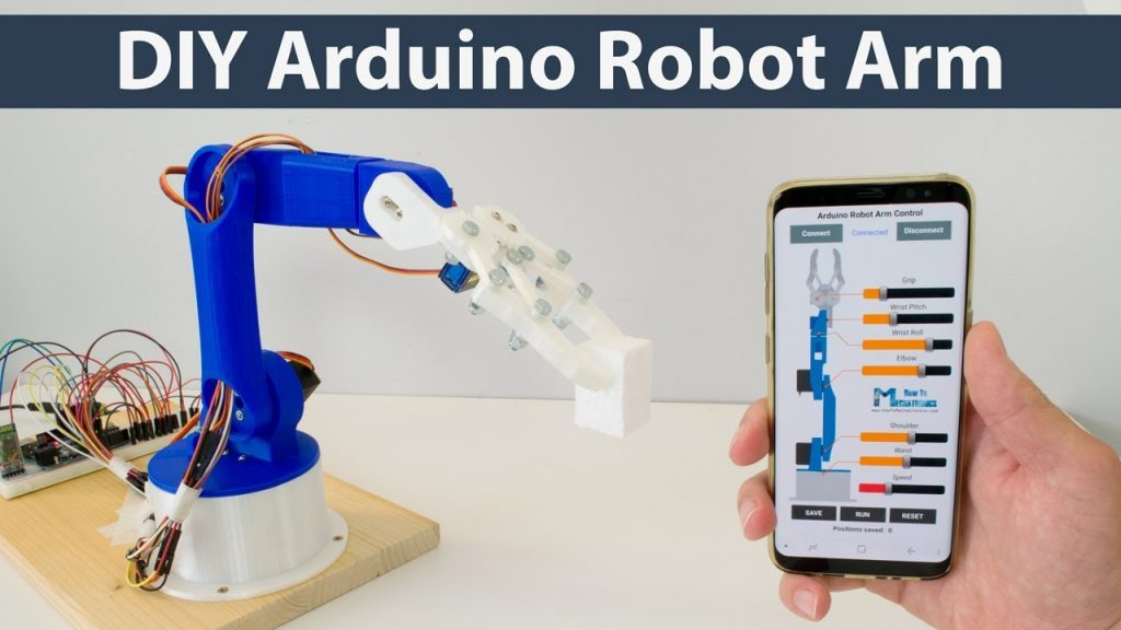 Buiding robots with arduino