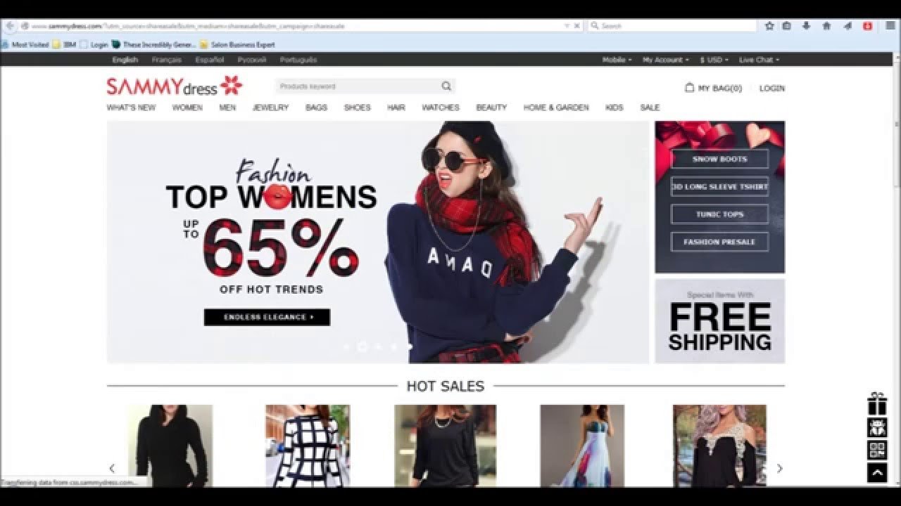 China online shopping free international shipping the for Top online websites for shopping