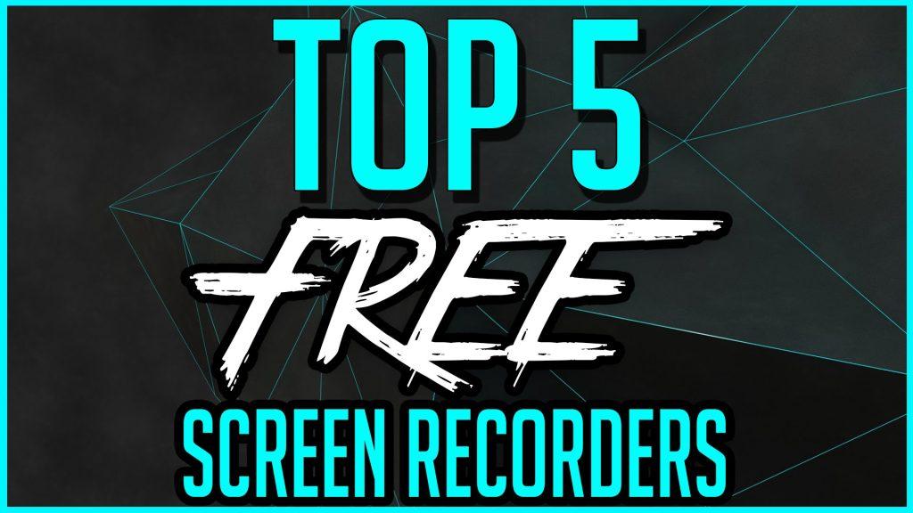 5 best screen capture recording