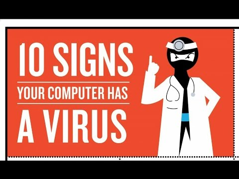 9+ symptoms to Tell You If your computer has viruses