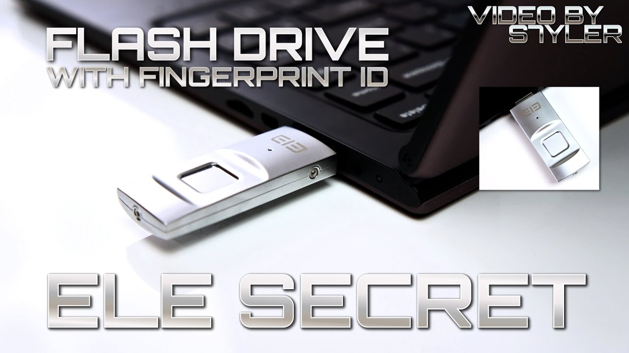Get Elephone U Disk, a USB Pen drive (Flash Drive) using Fingerprint