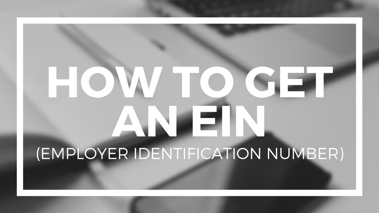 How to Apply & Get Employer Identification Number (EIN) from IRS in USA