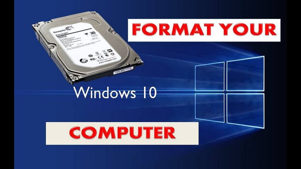 how to format wipe pc hard drive