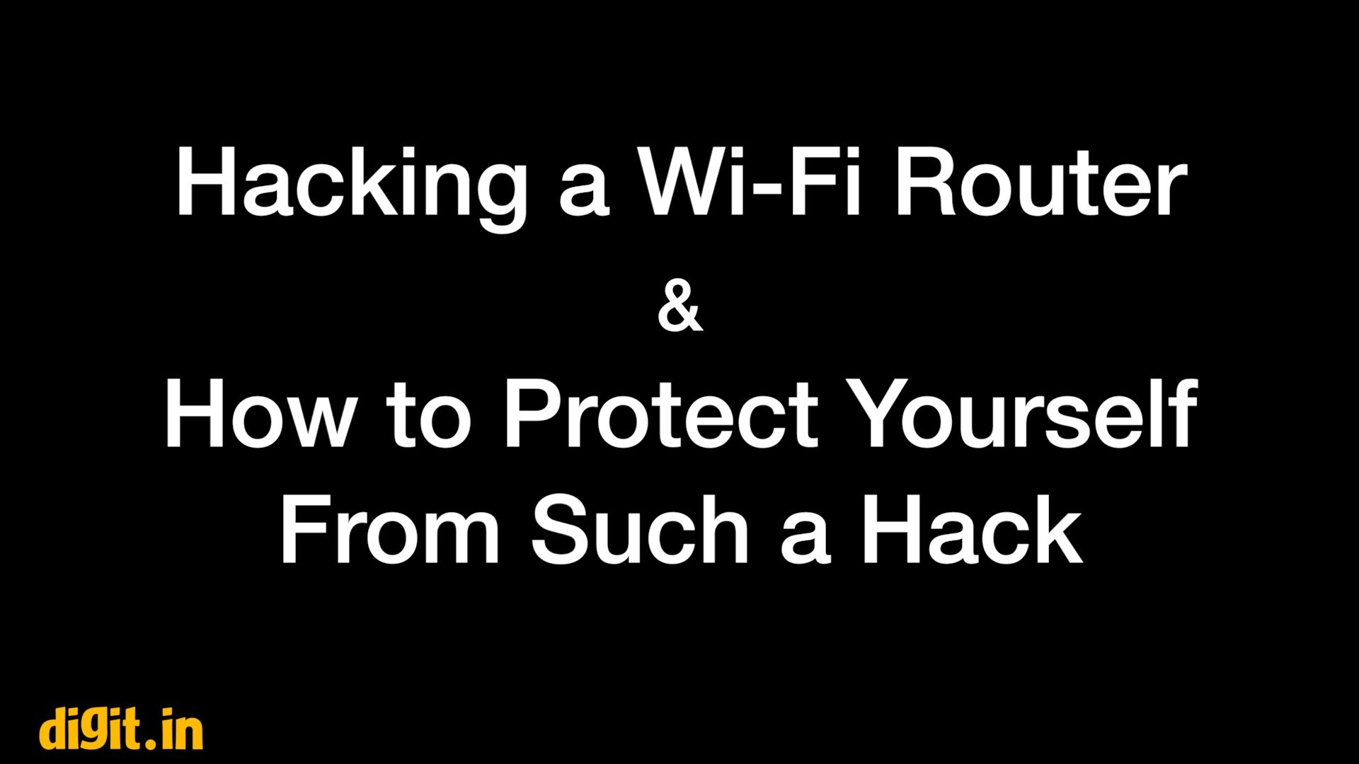 tips to secure wireless network