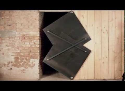 Torggler Origami Cool-Design Evolution Door is the Futuristic Folding Door to Come