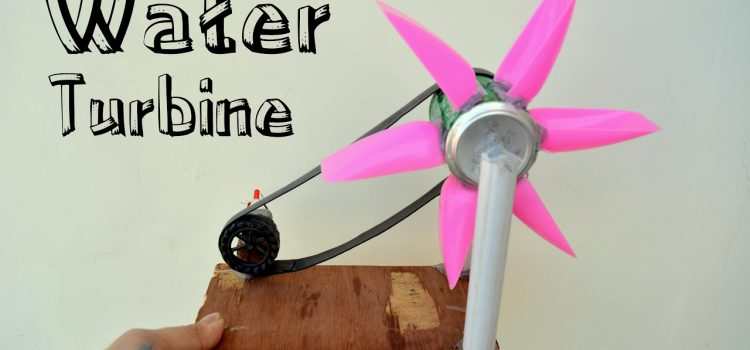 Tutorial to make Small Homemade Hydro electric Power Turbine Generator