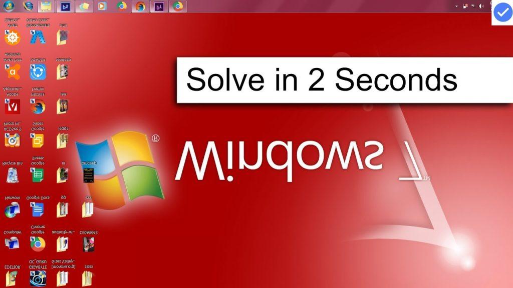 all tricks to rotate pc screen u