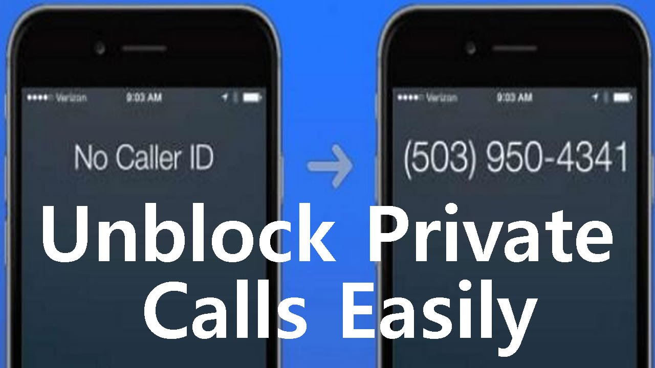 How to unmask, check and Reveal a Private Number Calling you with Identifier Apps