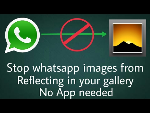 How To Stop Whatsapp Media Files: Video, Pictures from Auto Save to Phone Gallery