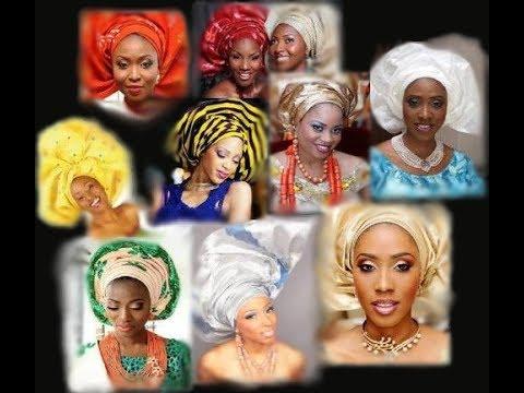 how to tie african nigerian brid