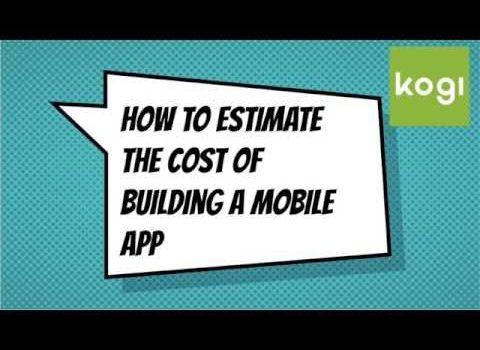 Mobile App Development Average Cost Estimates & Analysis
