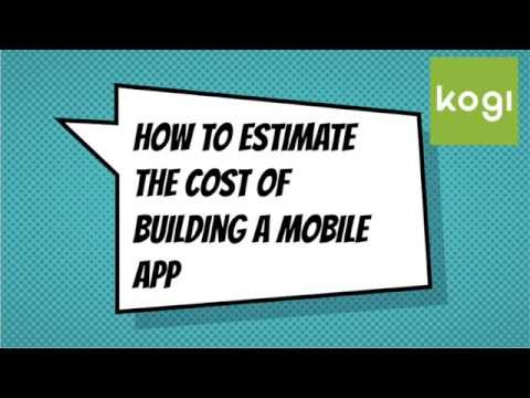 Mobile App Development Average Cost Estimates & Analysis