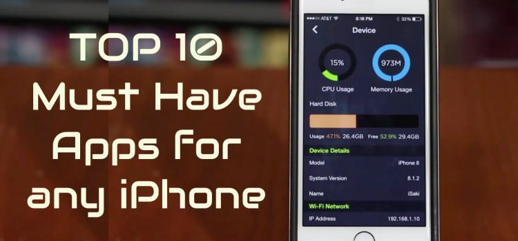 Top 9 Must have & Most Downloaded Cool iphone Apps from Apple Store, Best Free & Paid Software