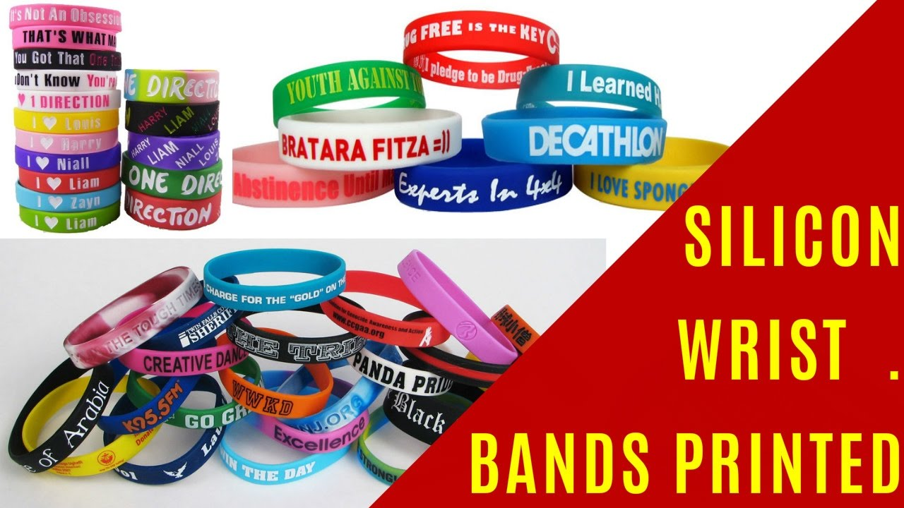 How to Buy Cheap & Sell Bracelets Online or Generate Leads with Customized Silicone WristBands