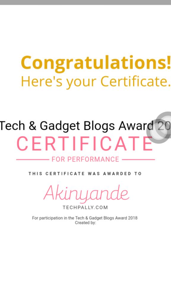 Best Tech blog in Nigeria