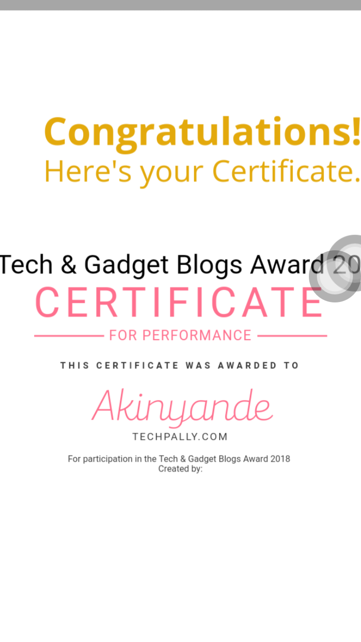 Best Tech blog in Nigeria