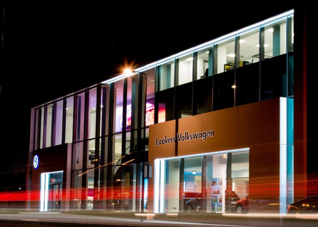 Lookers Volkswagen reopens site in uk
