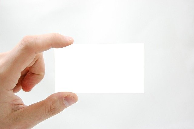How to design your business card