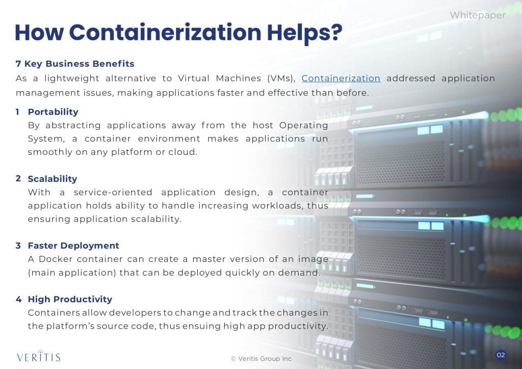 Impacts of containerization tech on businesses